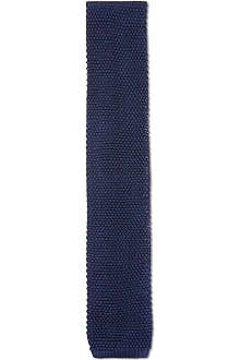 CORNELIANI Knitted silk tie