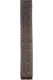 CORNELIANI Knitted silk-blend tie
