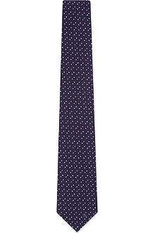 CORNELIANI Random dots tie