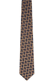 CORNELIANI Retro pattern tie
