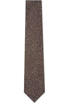 CORNELIANI Flecked silk tie