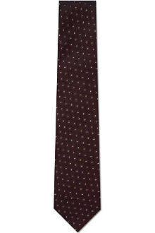 CORNELIANI Circle pattern tie