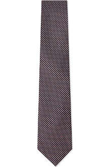 CORNELIANI Diamond print tie