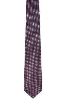 CORNELIANI Retro tile tie