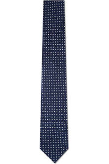 CORNELIANI Silk Patterned tie