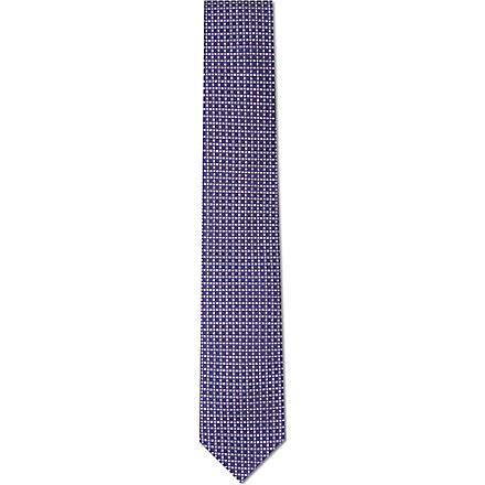 CORNELIANI Dots silk tie (Multi