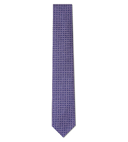 CORNELIANI Dots silk tie (Multi