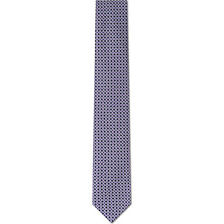 CORNELIANI Circles silk tie (Multi