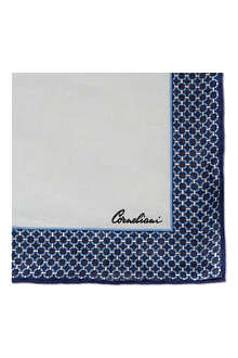 CORNELIANI Linen Pocket Handkerchief