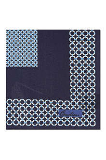 CORNELIANI Silk pocket handkerchief