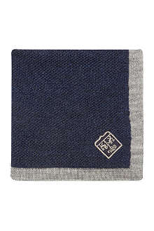 CORNELIANI Knitted pocket square