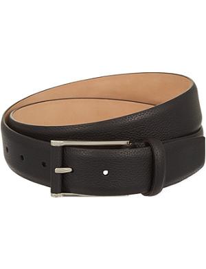 CORNELIANI Boar leather belt