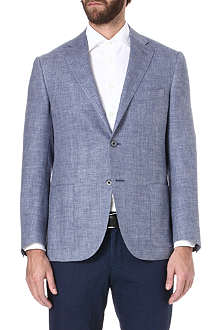 CORNELIANI Single-breasted twill jacket