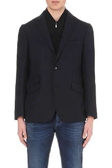 CORNELIANI Detachable knit-insert blazer