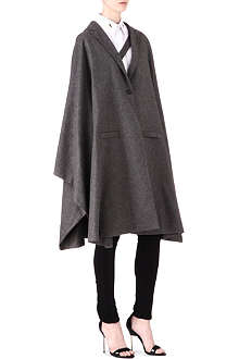 GIVENCHY Wool-cashmere cape