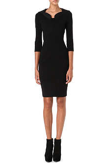 GIVENCHY Collar-detail knitted dress