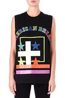 GIVENCHY American Dream sleeveless t-shirt