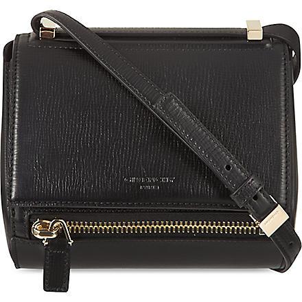 GIVENCHY Pandora mini box cross-body bag (Black