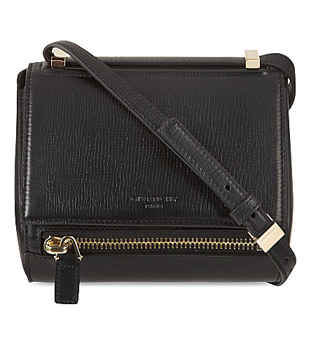 GIVENCHY Pandora mini box cross-body bag (Black