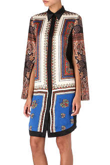 GIVENCHY Paisley shirt dress