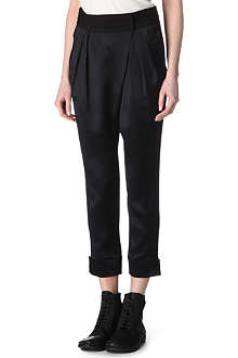 GIVENCHY Silk-satin harem trousers