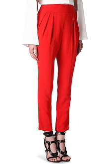 GIVENCHY Crepe trousers