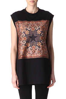 GIVENCHY Paisley top