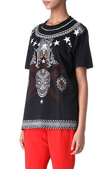 GIVENCHY Tattoo print t-shirt