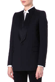 GIVENCHY Silk-lapel jacket
