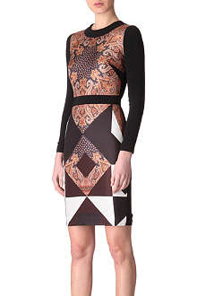 GIVENCHY Paisley dress