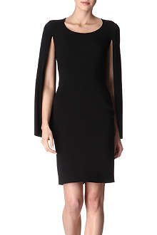 GIVENCHY Cape-sleeved dress