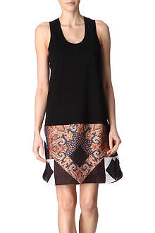 GIVENCHY Contrast hem dress