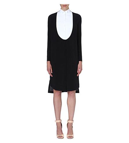 GIVENCHY Monochrome tuxedo dress (Black
