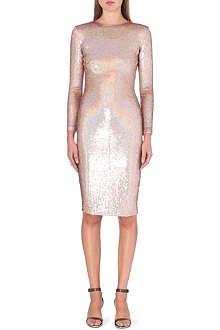 GIVENCHY Fitted sequinned dress