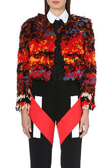 GIVENCHY Multi-layered tulle bolero
