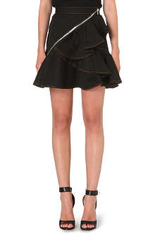 GIVENCHY Ruffled skater skirt