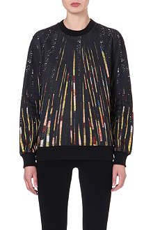 GIVENCHY Sequin-print sweatshirt
