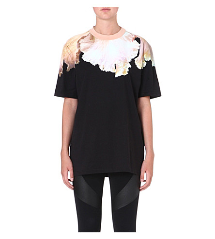 GIVENCHY Orchid t-shirt (Black