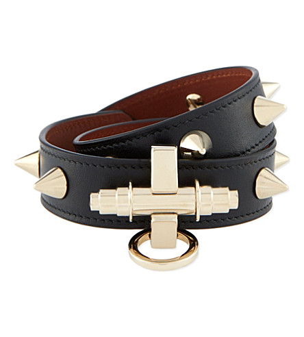 GIVENCHY Obsedia spike cuff (Black