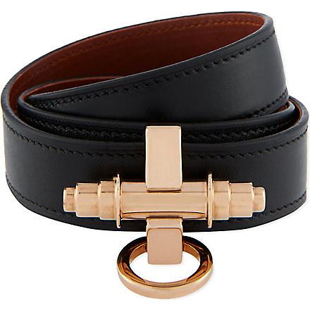 GIVENCHY Obsedia cuff (Black