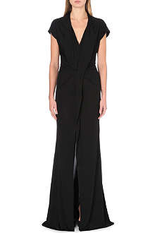 GIVENCHY Draped jersey gown