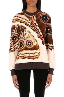 GIVENCHY Butterfly print sweatshirt