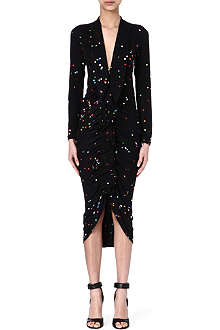 GIVENCHY Tailored dot dress