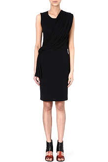 GIVENCHY Draped jersey dress