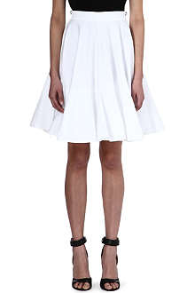 GIVENCHY White flared skirt