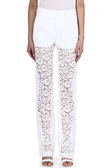 GIVENCHY Lace trousers