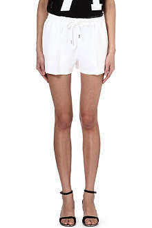 GIVENCHY Drawstring jersey shorts