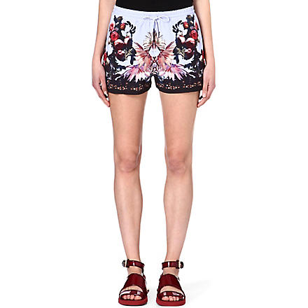 GIVENCHY Floral shorts (Multi