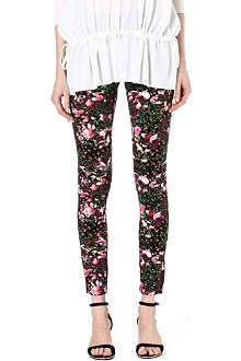 GIVENCHY Floral leggings
