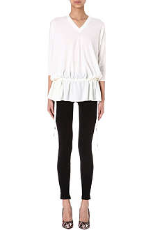 GIVENCHY Drawstring knit top